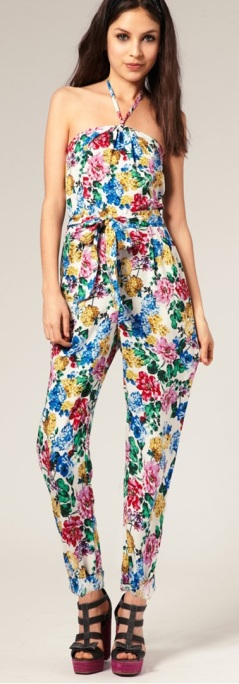 Stylish-Jumpsuits-Fall-Fashion-Trend-2014-brights-and-floral-2